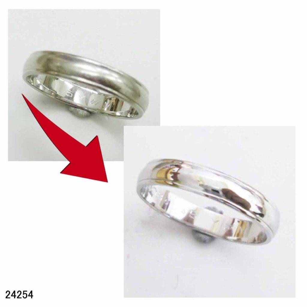 24254プラチナ結婚指輪サイズ直し