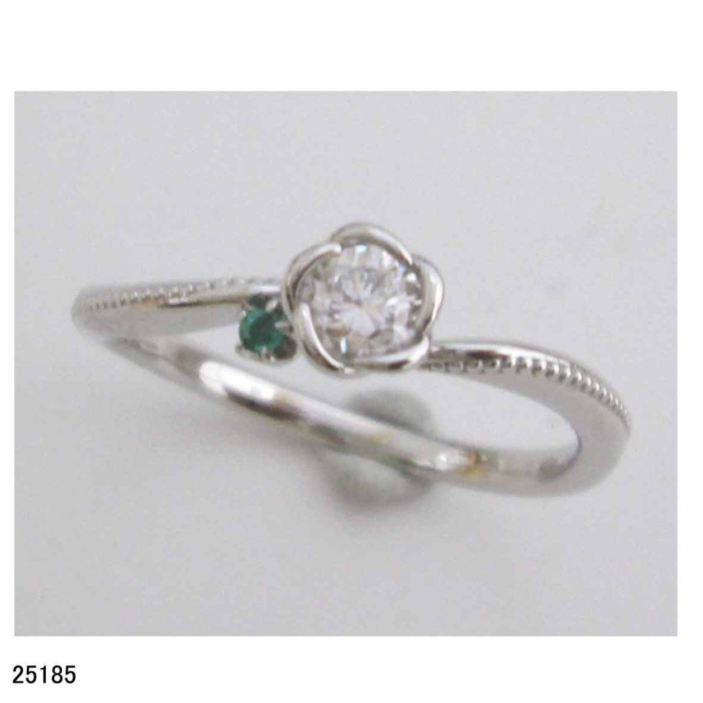 25185結婚指輪ダイヤリング